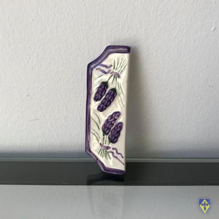 Frise de Plaque Violette